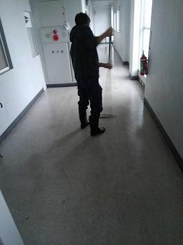 アパート清掃
