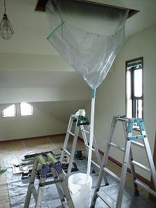 家庭用天井埋込エアコン